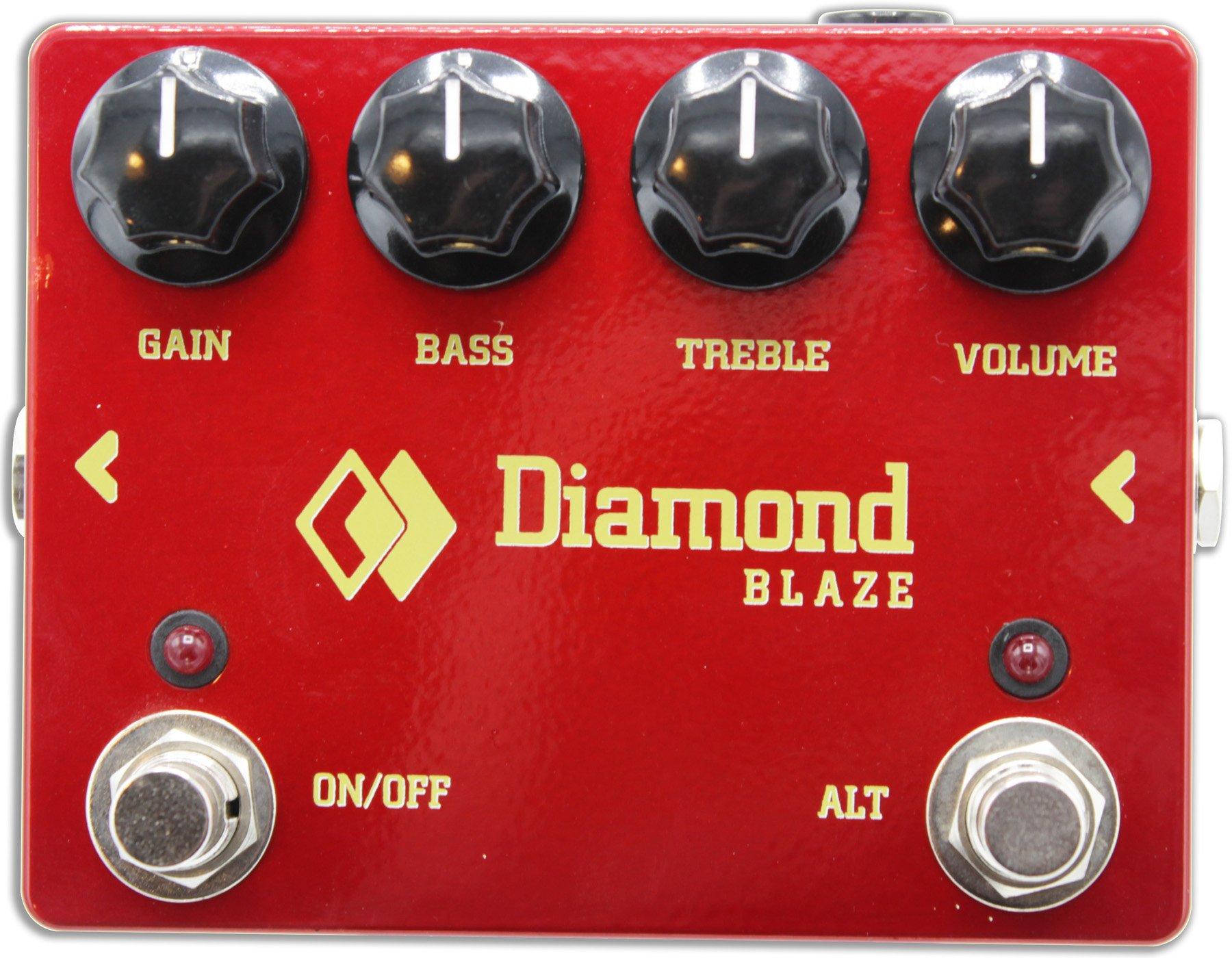 Diamond Blaze Germanium Fuzz Pedal - Floor Model