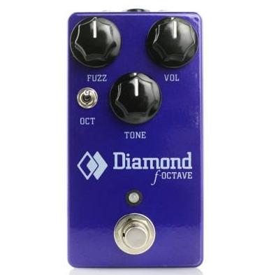 Diamond F-Octave Fuzz Pedal