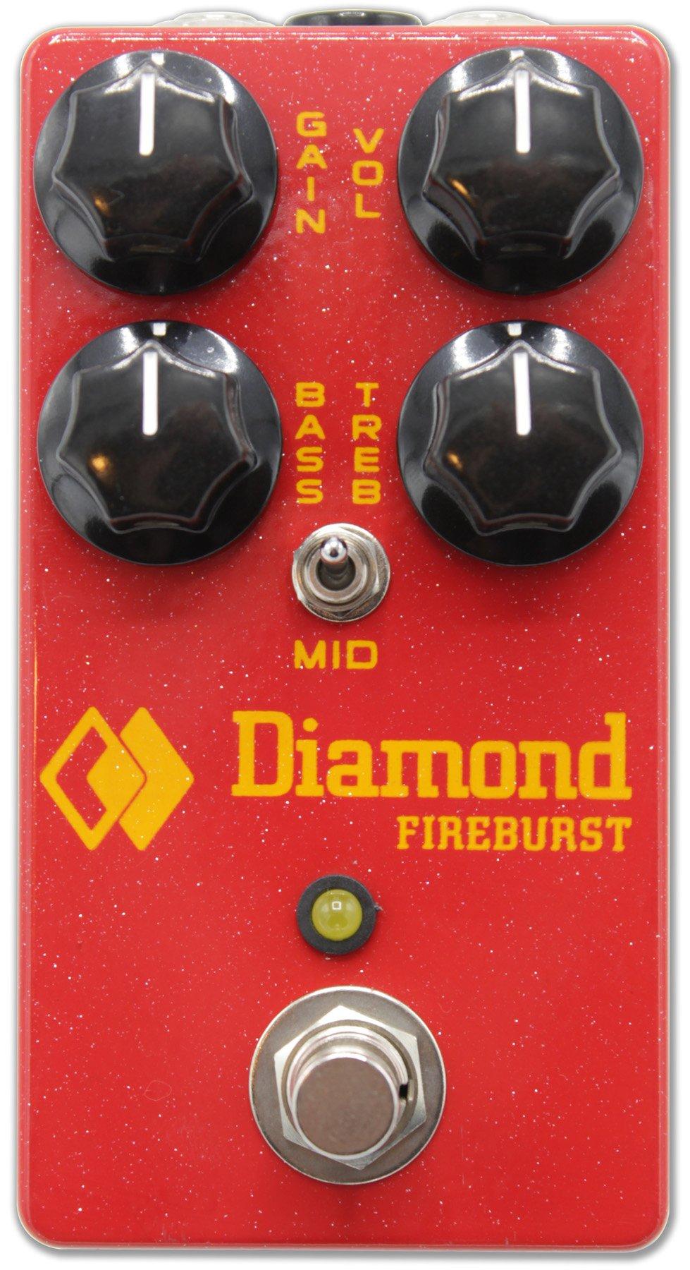Diamond Fireburst Distortion