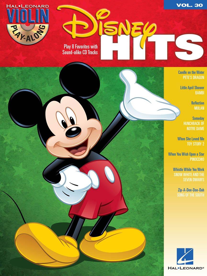 Disney Hits Violin Play Along 30