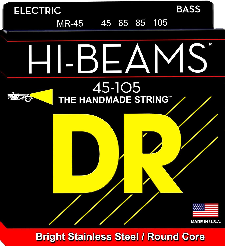 DR Strings MR45 Hi-Beam Bass Strings 45-105