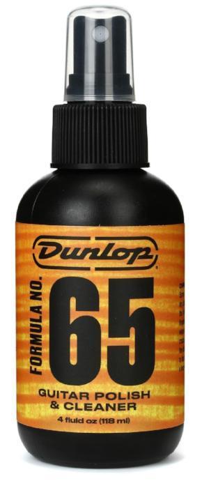 Dunlop 654 Formula 65 Polish & Cleaner 4 oz.