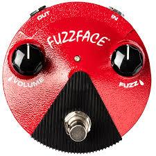 Dunlop Band Of Gypsys Fuzz Face Mini Distortion