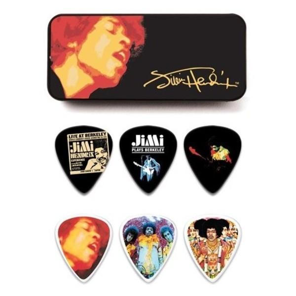 Dunlop Jimi Hendrix Electric Lady Pick Tin