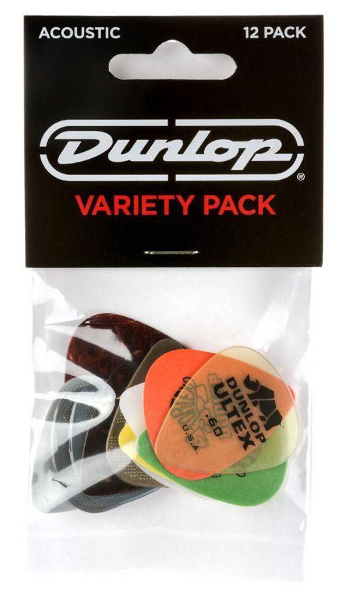 Dunlop PVP112 Acoustic Guitar Pick Pack