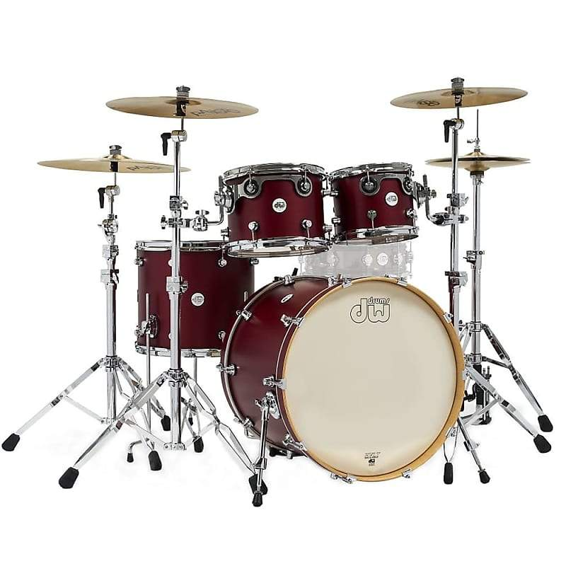 DW Design Shell Limited Edition Shell Pack Satin Cherry