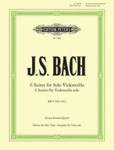 Edition Peters J.S. Bach Six Suites for Solo Violoncello I