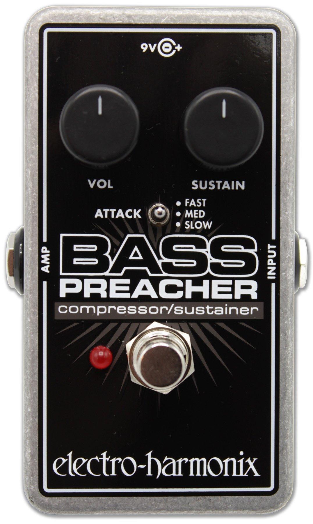Electro Harmonix Bass Preacher Bass Compressor/Sustainer Pedal