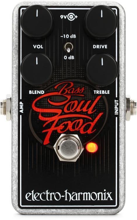 Electro Harmonix Bass Soul Food Bass Overdrive Pedal