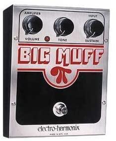 Electro Harmonix Big Muff Pi Distortion Fuzz Pedal