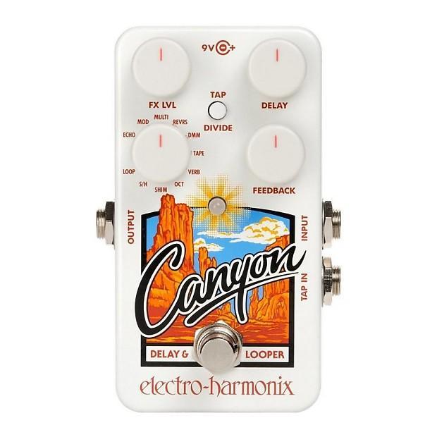 Electro Harmonix Canyon Delay and Looper Guitar Pedal