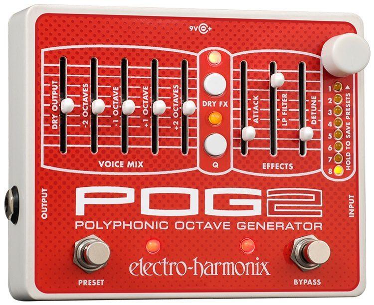 Electro Harmonix POG2 Polyphonic Octave Generator Guitar Pedal