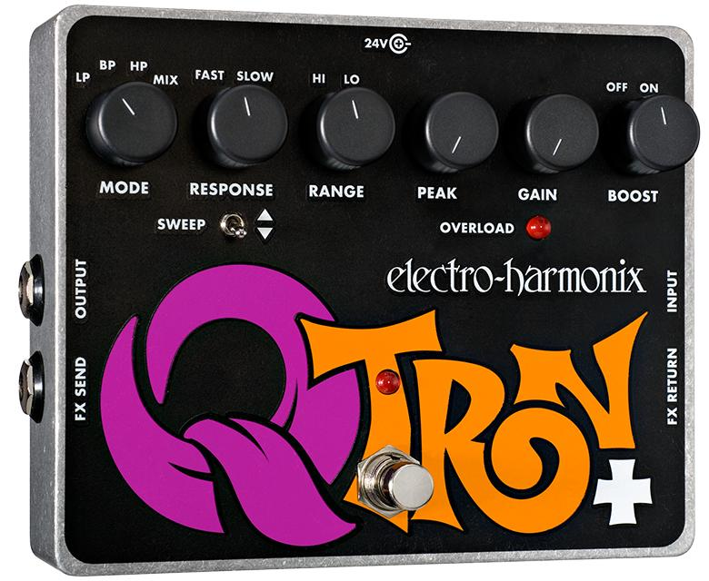 Electro Harmonix Q-Tron Plus Envelope Filter Guitar Pedal with Effects Loop