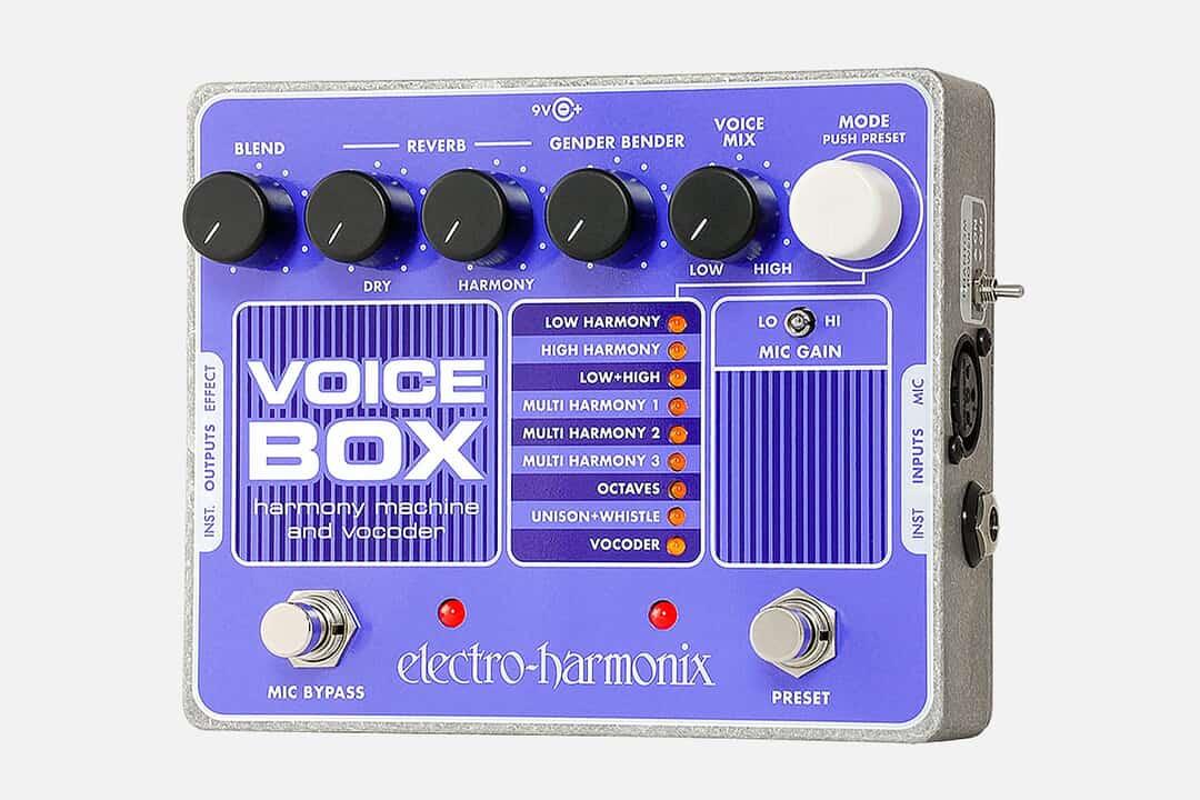 Electro Harmonix Voice Box Vocal Harmony Machine/Vocoder Pedal