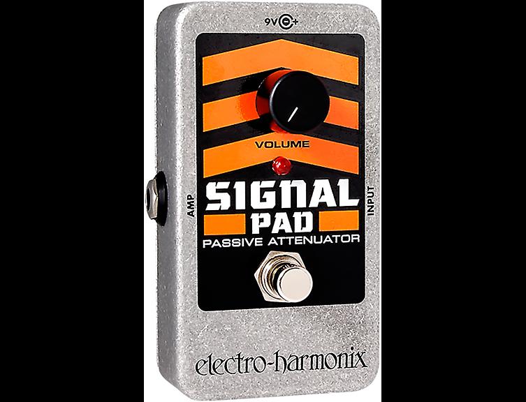 Electro-Harmonix Nano Signal Pad Attenuator Guitar Effects Pedal