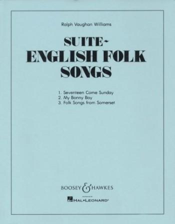 English Folk Song Suite Score 12 Parts