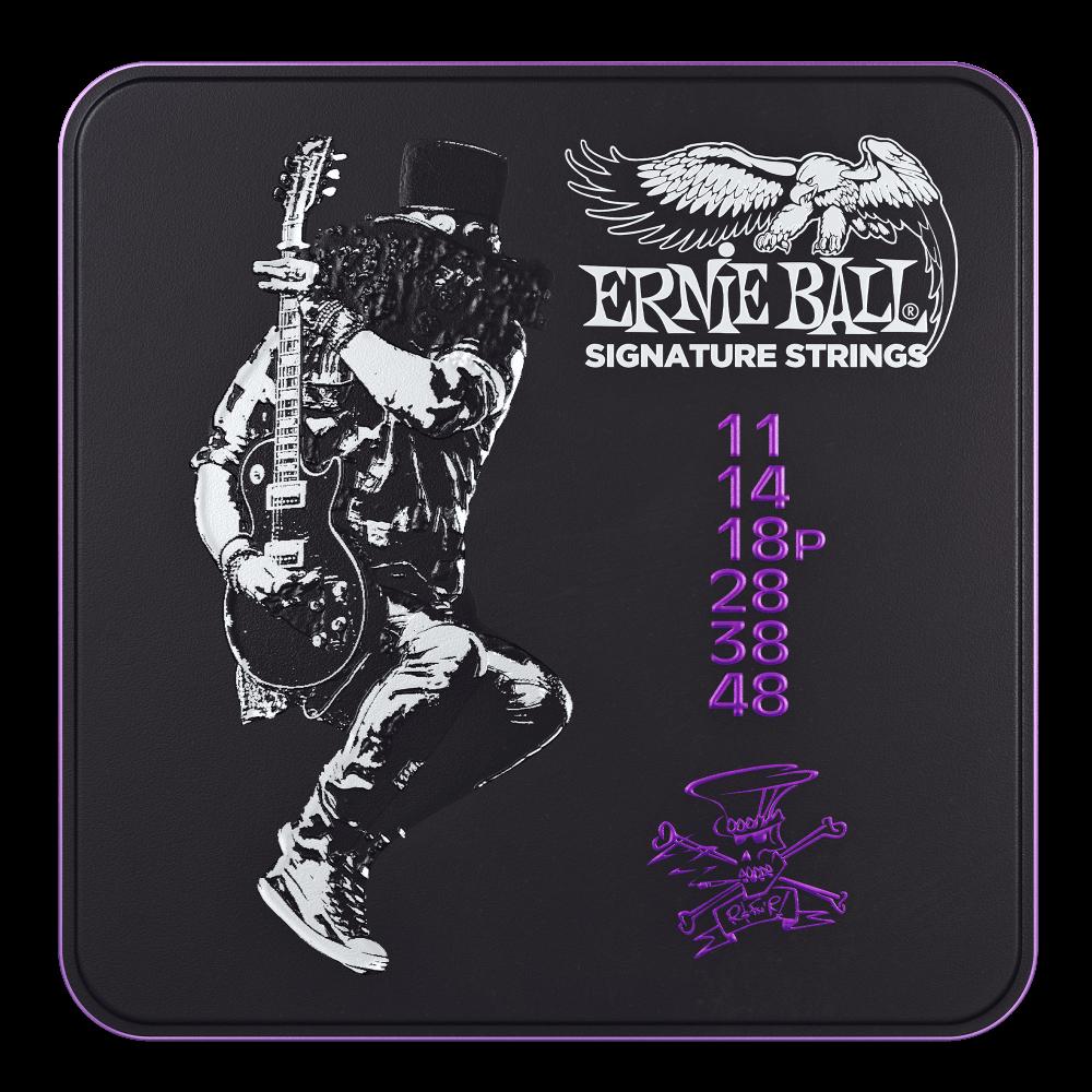 Ernie Ball Limited Edition Slash Guitar Tin 3 Sets of String