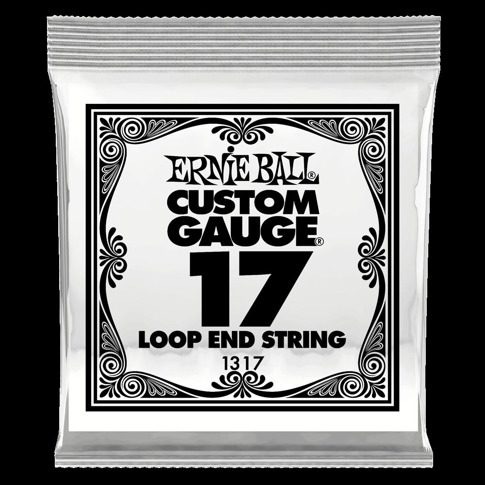 Ernie Ball Loop End String .017 Gauge (6 Pack)