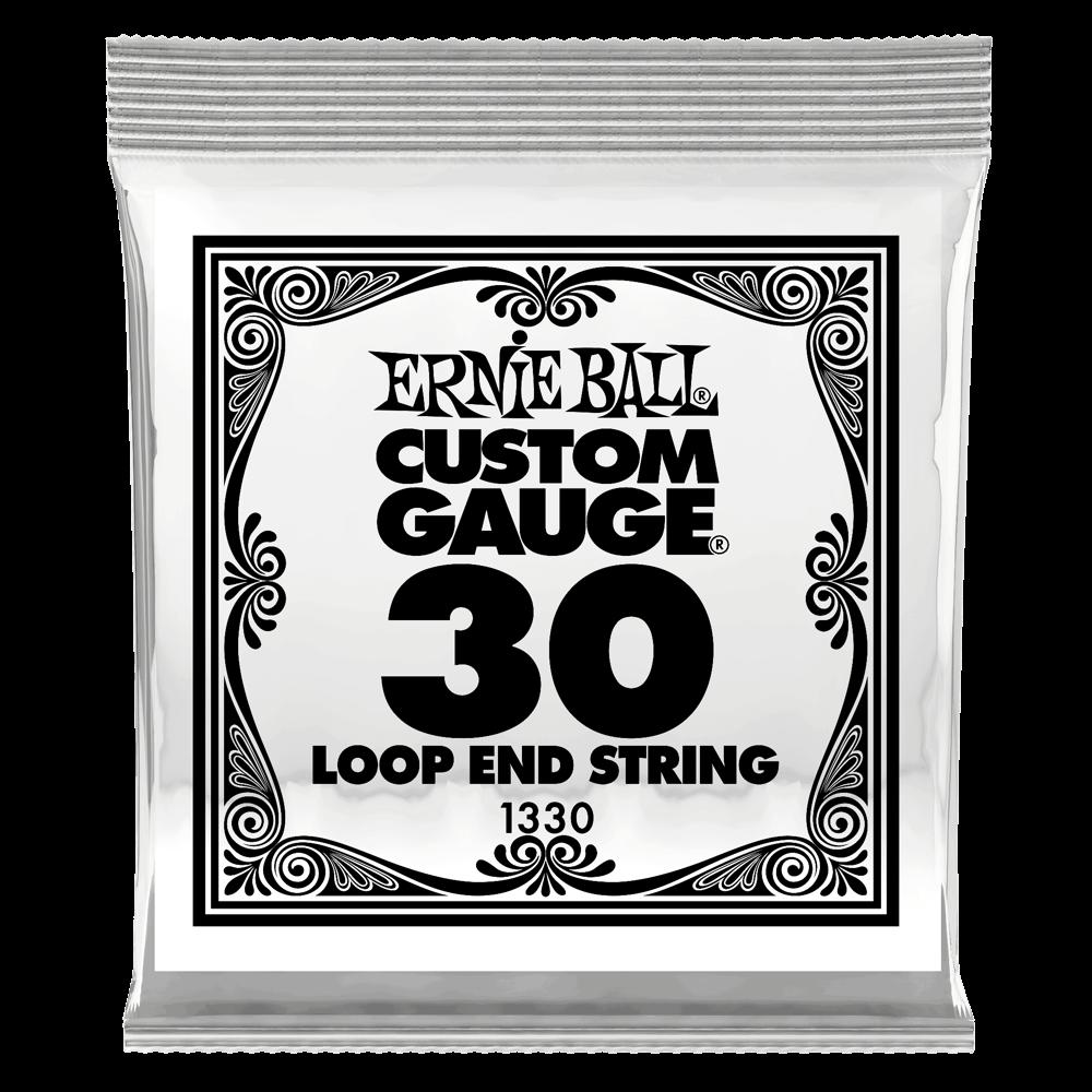 Ernie Ball Loop End String Wound .030 Gauge (6 Pack)