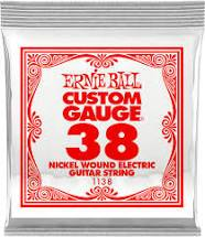 Ernie Ball Nickel Wound Electric Guitar String .038 Gauge 6 Pack