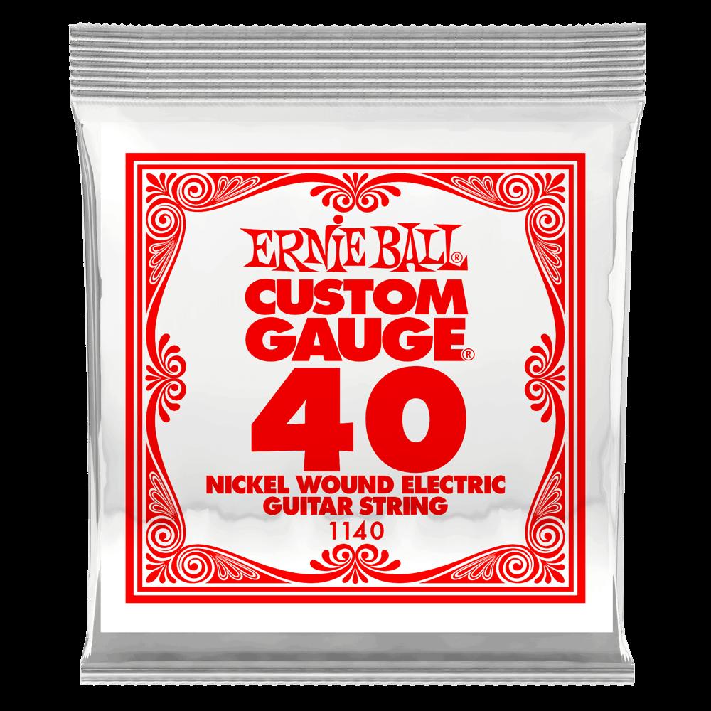 Ernie Ball Nickel Wound Guitar String .040 Gauge (6 Pack)