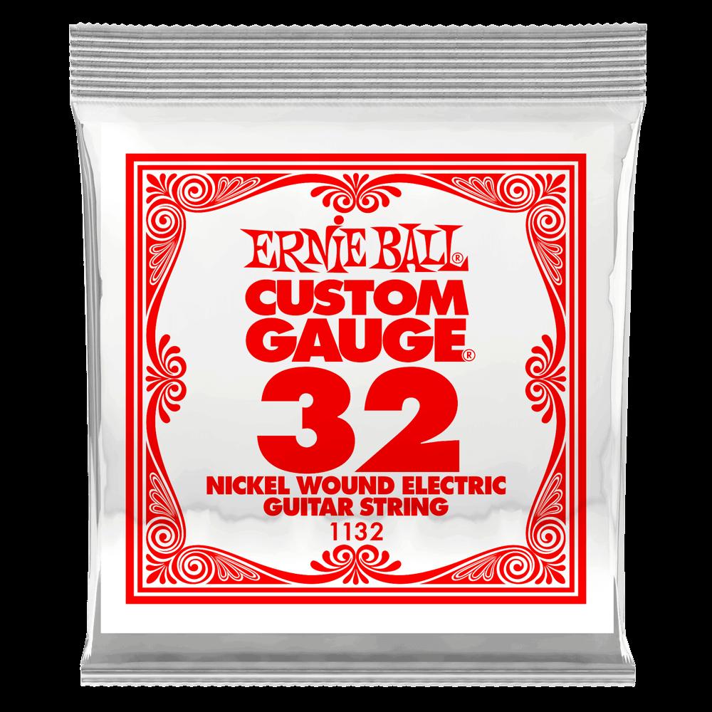 Ernie Ball Nickel Wound String .032 Gauge (6 Pack)