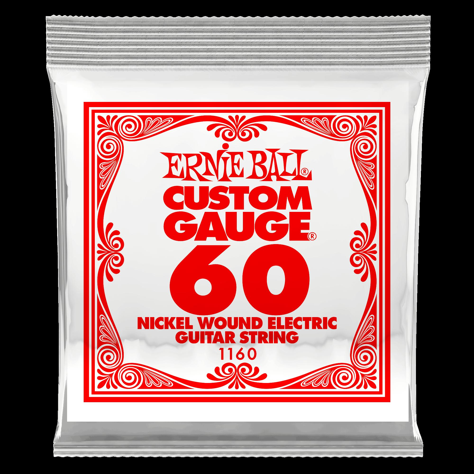 Ernie Ball P01160 Single String .60 Gauge (3 Pack)