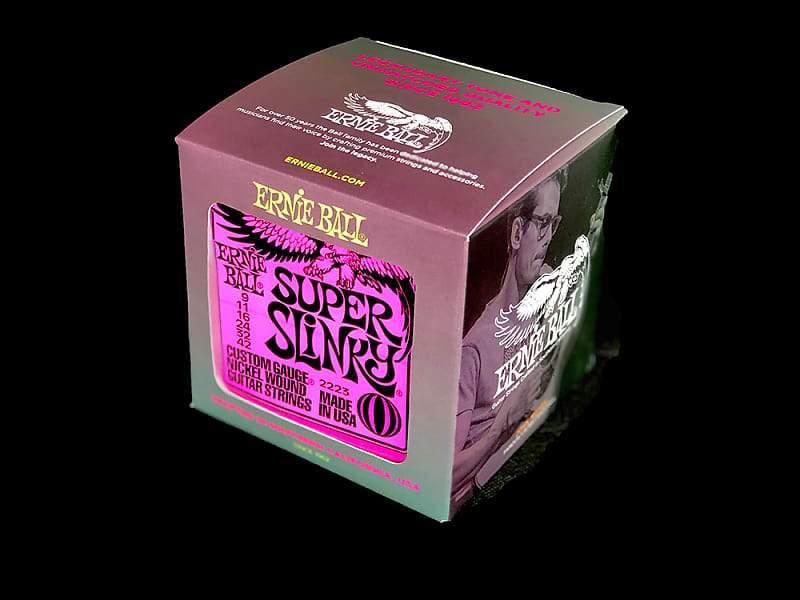 Ernie Ball P02223 Super Slinky Electric Guitar Strings 9-42 (Box of 12)