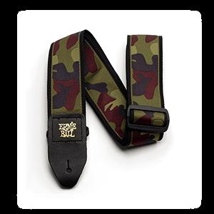Ernie Ball P04105 Camouflage Jacquard Guitar Strap