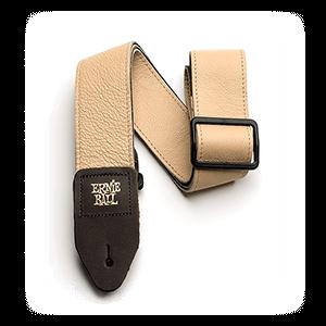 Ernie Ball P04136 Tri-Glide Leather Strap Tan