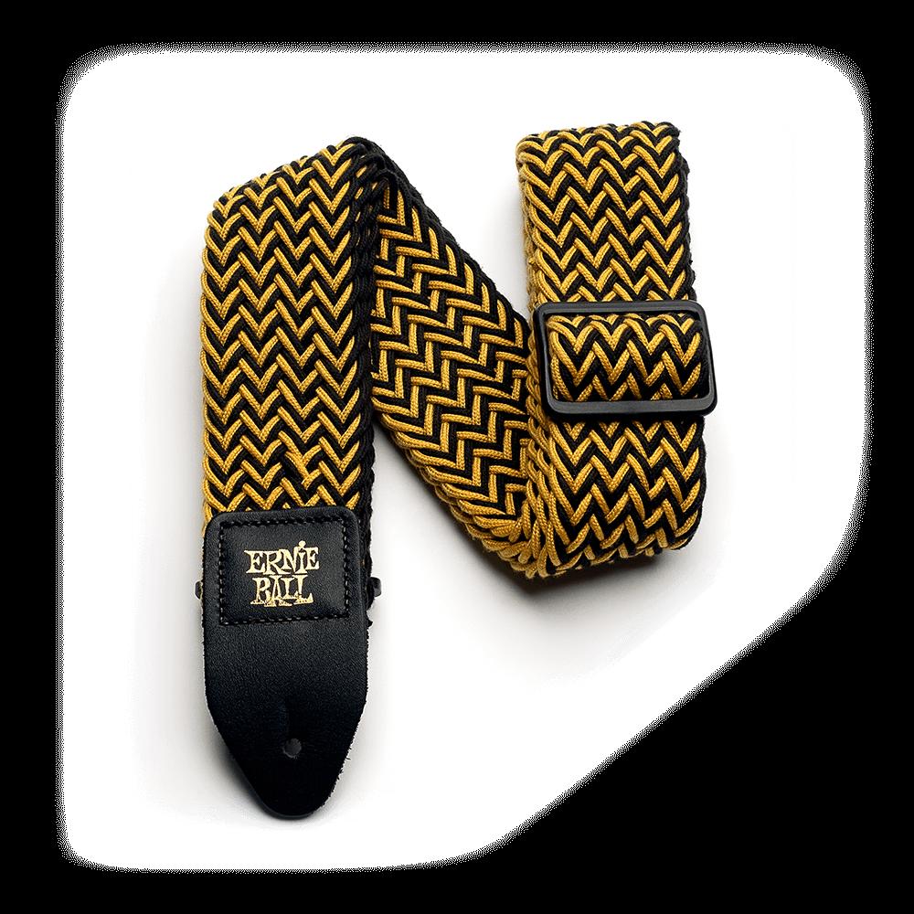 Ernie Ball P04147 Yellow Jacket Polyspun Strap