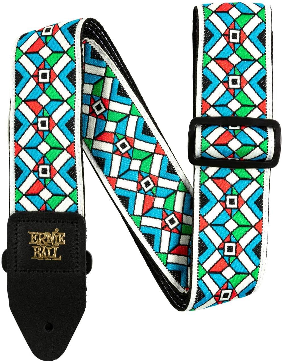 Ernie Ball P04659 Kaleidoscope Blue Strap