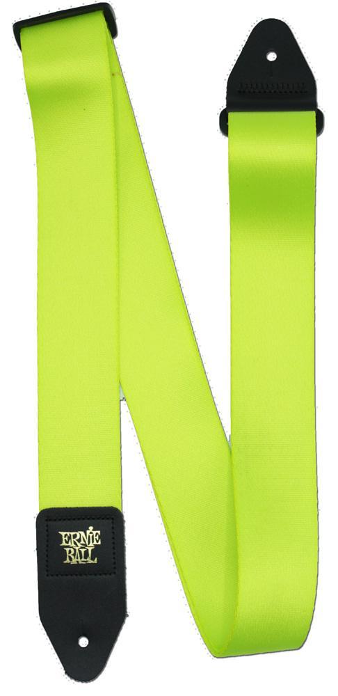 Ernie Ball P05320 Neon Green Premium Guitar Strap