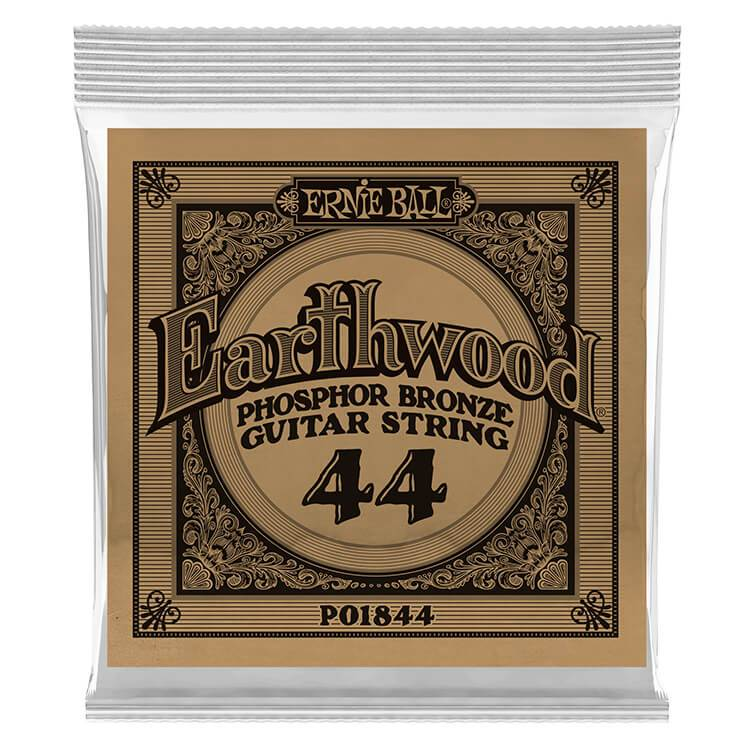 Ernie Ball Phosphor Bronze Acoustic String .044 Gauge 6 Pack