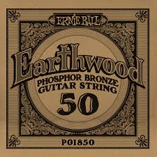 Ernie Ball Phosphor Bronze Single String .050