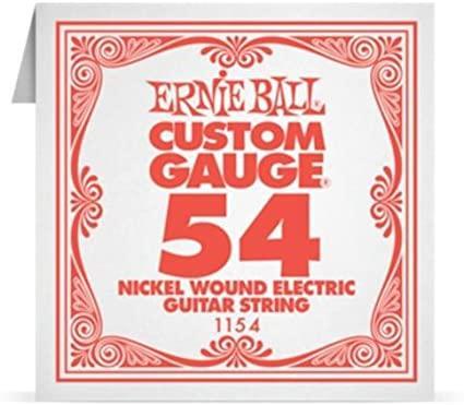 Ernie ball Single String Nickel Wound .054 6 Pack