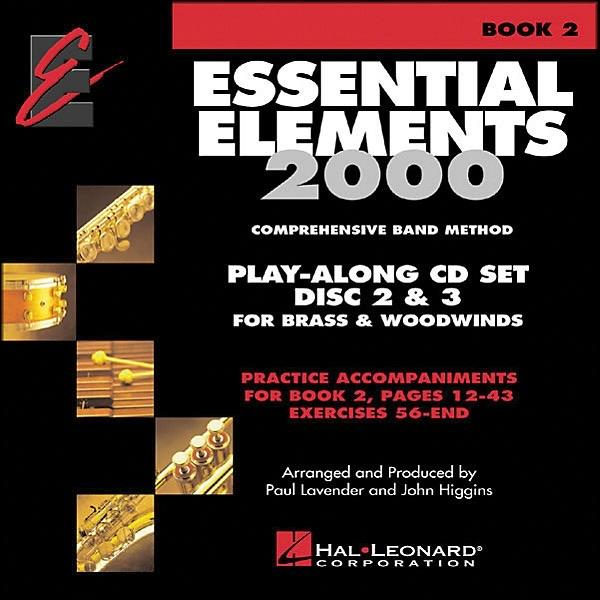 Essential Elements 2000 Book 2: Play-Along CD Set Discs 2 & 3 for Brass & Woodwinds