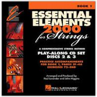 Essential Elements 2000 for Strings Book 1: Play-Along CD Set Discs 2 & 3