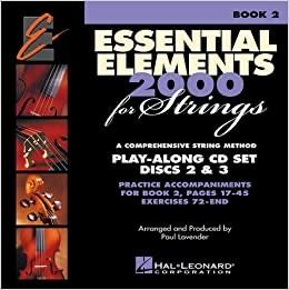 Essential Elements 2000 for Strings Book 2: Play-Along CD Set Discs 2 & 3