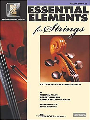 Essential Elements 2000 for Strings: A Comprehensive String Method Cello Book 2 Paperback