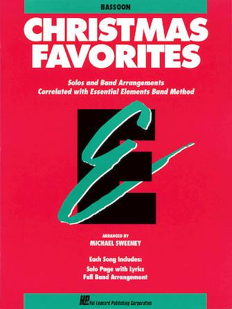 Essential Elements Christmas Favorites for Bassoon