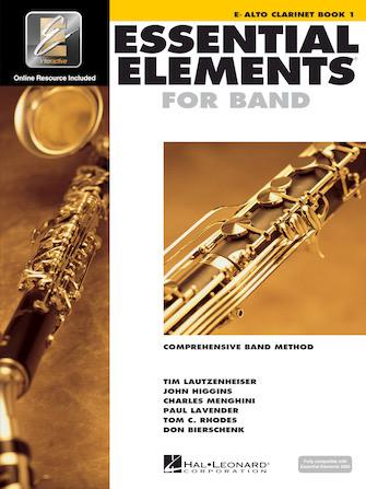 Essential Elements for Band: Book 1 - Eb Alto Clarinet WITHOUT DVD