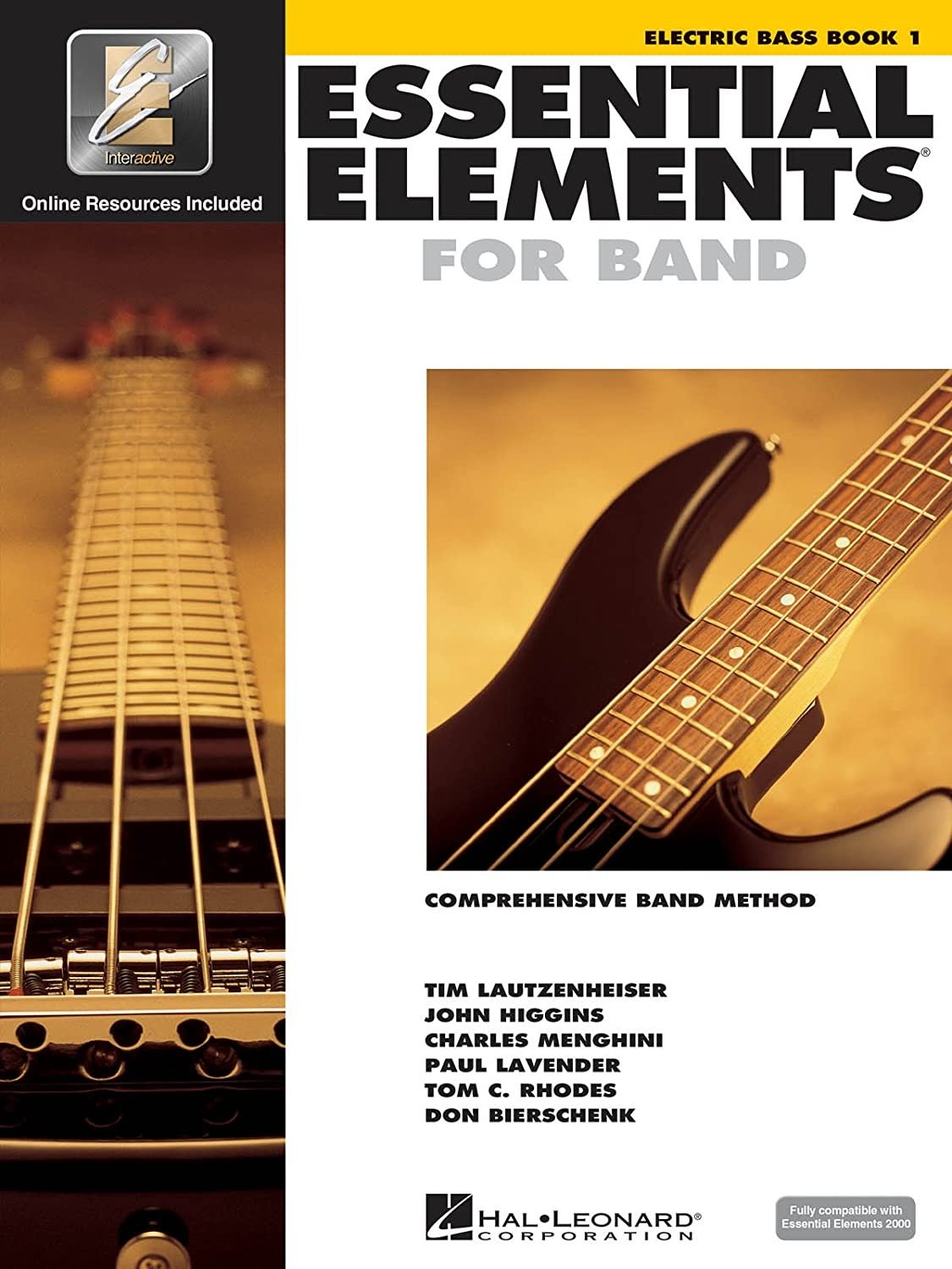 Essential Elements for Band: Book 1 - Electric Bass