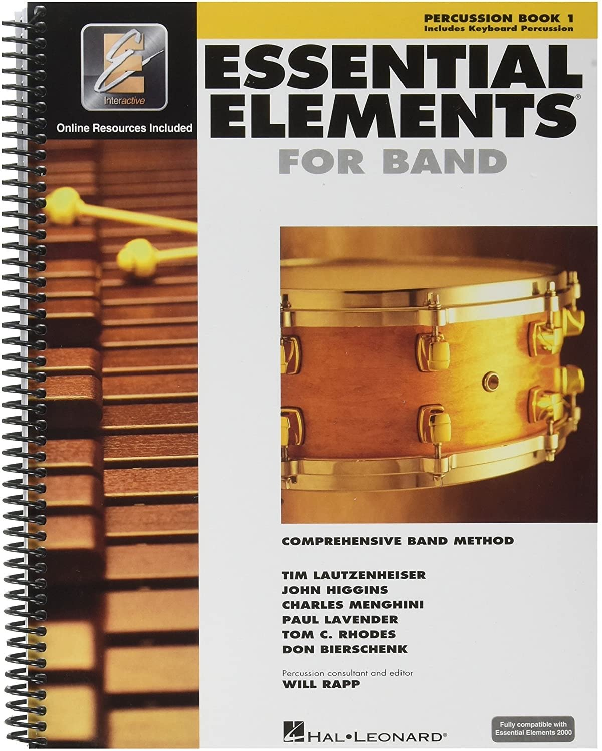 Essential Elements for Band: Book 1 - Percussion
