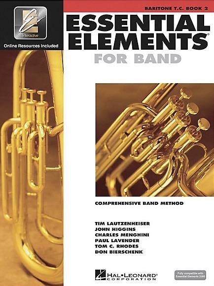 Essential Elements for Band: Book 2 - Baritone T.C.