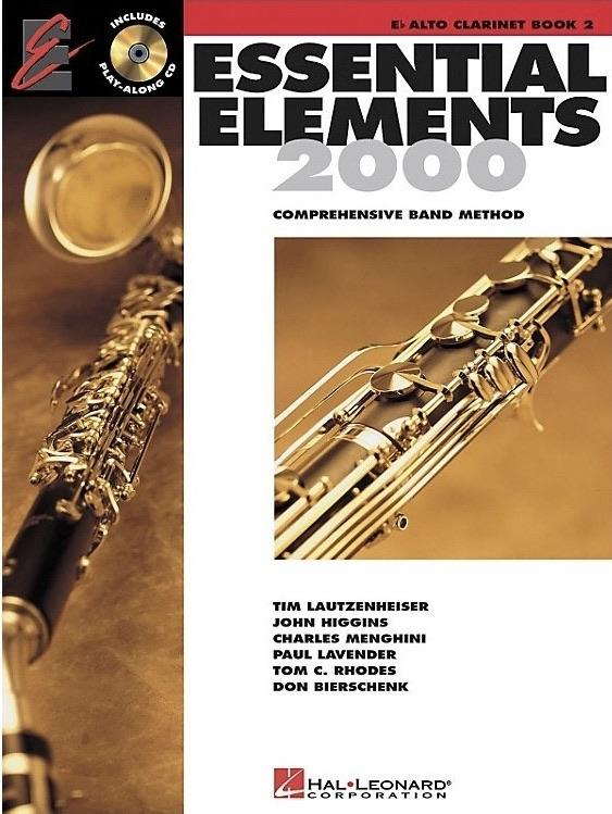 Essential Elements for Band: Book 2 - Eb Alto Clarinet