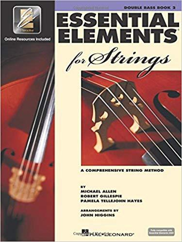 Essential Elements for Strings - Book 2 with EEi: Double Bass Sheet music