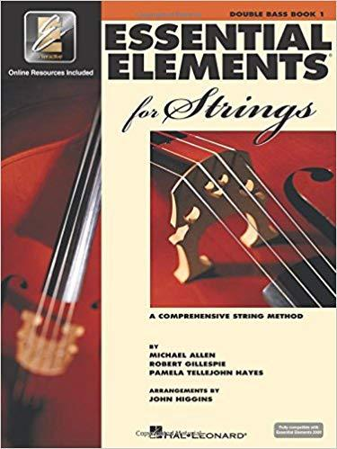 Essential Elements for Strings 2000 - Book 1 - Double Bass (A Comprehensive String Method) Paperback