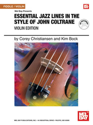 Essential Jazz Lines in the Style of John Coltrane Fiddle / Violin book