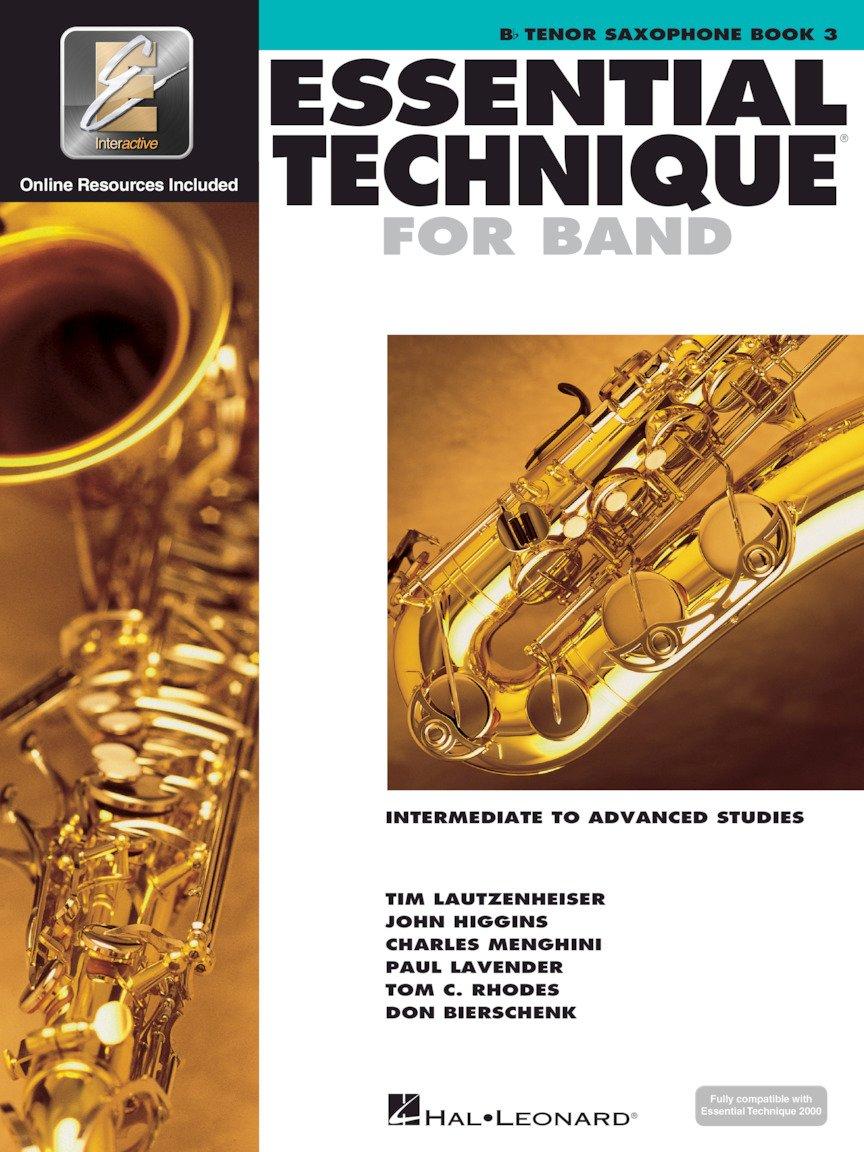Essential Technique For Band Bk. 3 Bb Tenor Sax